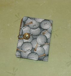 Tea Bag Wallet for the Golf Lover by AStitchinTime72 on Etsy, $8.00