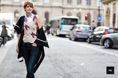 J'ai Perdu Ma Veste / Stella Tennant – Paris. // #Fashion, #FashionBlog, #FashionBlogger, #Ootd, #OutfitOfTheDay, #StreetStyle, #Style