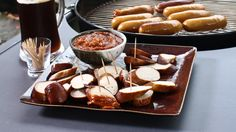 Café brûlé sud-africain Steven Raichlen, Pretzel Bites, Bbq, Food, Drink, Special Recipes, Barbecue, Barbecue Pit, Meals