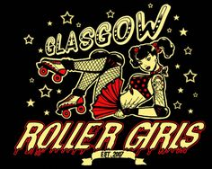 Glasgow Roller Girls - best derby logo ever