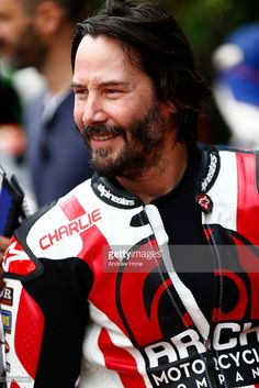 Actor Keanu Reeves takes part at the Goodwood Festival of Speed on June 24, 2016 in Chichester, England.
