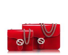 exclusive gucci interlocking  shoulder bag