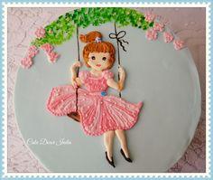 Girlie in RI - Cake by Prachi DhabalDeb
