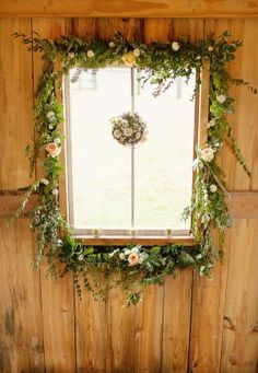 Window-Wreath | photography by http://www.souderphotography.com
