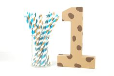 Cookie Monster Number 1 - Birthday Party Decor - Big Number for Birthday Party  C is for Cookie! This adorable number is a perfect accent for a Cookie Monster themed party! Numbers can be used as a photo shoot prop... so perfect for those adorable smash cake sessions! They are also perfect for the cake table, mantle, centerpiece decor etc! Lots of uses for this sweet piece.  The paper mache number has been painted a tan color with chocolate chips. Coordinating initial or name available, too…