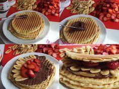 Tost Makinasında Waffle | Yemek Tarifleri Neşeli Tatlarım