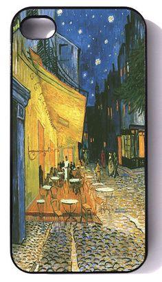 Van Gogh - - -  iphone 4 case, iphone case, iphone 4s case, iphone 4s, iphone 4 cover, iphone hard case, iphone 4, iphone. $19.95, via Etsy.