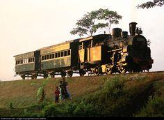 Indonesian Railway  Steam 0-4-2T  Ambarawa Java INDONESIA  10 July 2006