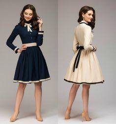 Rochie Eleta-109 Lei #elegantdresses #fashion #bleumarin #autumndress #fancy #onlineshop #longsleve #bow #moda #photosession #womanfashion #ordernow