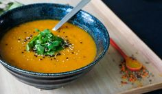 recipe for Pumpkin soup with a lovely spices blend- a Teaspoon of Renate de Klein