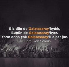 Biz hergün Galatasaray'lıyız. Ama sadace tek fark Galatsaray'ı yarın bugünden daha çok sevmemiz.. My World, Latina, Ads, Love, Movie Posters, Apple Iphone, Wallpaper, Sports, Board