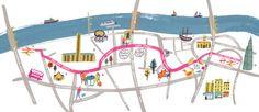 Better Bankside map of London - Charlotte Trounce