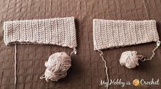 My Hobby Is Crochet: Chic Aran Cardigan - Free Crochet Pattern with Tutorial