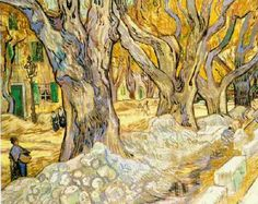 Vincent van Gogh. The Road Menders. Saint-Rémy: November, 1889