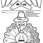 This set of Thanksgiving cut and paste numberlines are designed for Kindergarten! Includes Turkey numberline (1-10) which is also available as a lo...