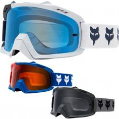 79bfaacc2189 Fox Racing AIR Space Draftr Mens Motocross Goggles