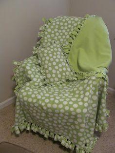 No Sew Knot Fleece Projects On Pinterest No Sew Fleece