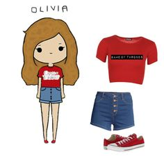 """""""Olivia"""" by makewayforqueencammy ❤ liked on Polyvore"""