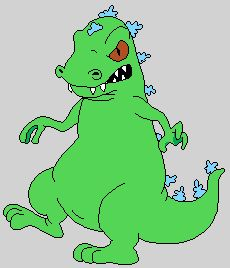 Oooohhhhhhh my god guys, Reptar (Rugrats) was voiced by Busta Rhymes.