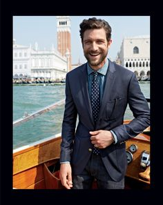 J.Crew Ludlow club blazer with double vent in Italian wool. J. Crew Renaissance at Colony Park 601.856.8104 #shoprenaissance
