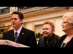 Roy Clark 2011 Oklahoma's Music Ambassador for Children