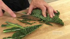 Super Quick Video Tips: A Quicker Way to Cut Kale