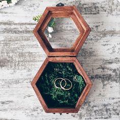 Wedding rings box / Купить Шкатулка для обручальных колец - Woodland wedding - шкатулка деревянная, шкатулка для колец, обручальное кольцо