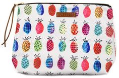 Party touch-up supplies, music festival stashes, beach bag essentials: they all find their perfect place herein. Fruit Punch Clutch | Pura Vida Bracelets