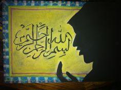 Waldorf ~ 5th grade ~ Ancient Persia ~ Islamic Prayer ~ chalkboard drawing