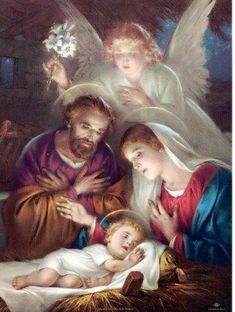 Pictures Of Jesus Christ, Religious Pictures, Religious Art, Outdoor Nativity Scene, Christmas Nativity Scene, Christian Images, Christian Art, Pictures Of Mary, Jesus Mary And Joseph
