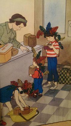 Edith Unnerstad:  Klarbärskalaset, illustration by Ilon Wikland