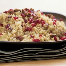 Quinoa with Dried Cranberries and Toasted Pecans