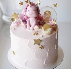 41 Ideas For Birthday Cake Girls Kids Ballerina Birthday Cakes Girls Kids, Baby Birthday Cakes, Cupcake Birthday Cake, Birthday Ideas, Fondant Girl, Fondant Cupcakes, Cupcake Cakes, Unicorn Cake Topper, Drip Cakes