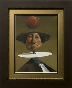 Isaac Newton   Artist Joe McFadden   Subject Isaac Newtonh4>   Medium Oil on Canvas   Category Painting   Circa 2014   Dimensions H 16in x W...