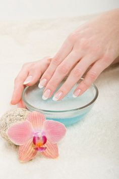 Nails tips care - easy to make at home