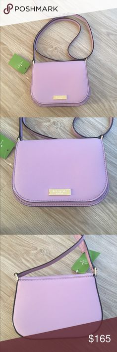 "NWT Kate spade Carsen cross body bag New with tags Kate spade Carsen cross body bag. Color is ""lilac petal"". Inside of the bag had two compartments. Color is absolutely gorgeous. kate spade Bags"
