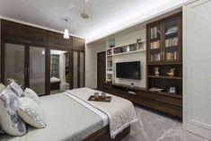 TV unit in bedroom - Ar. Puran Kumar