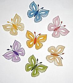 vlinders in alle kleuren.