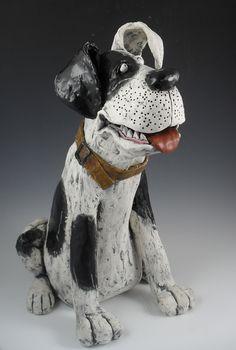 Big Dog by Kathleen Kelly www.klayworks.com