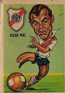 Oscar Mas - River Plate #46   1967
