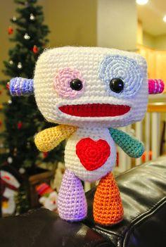 Frankens Robbie the Robot amigurumi