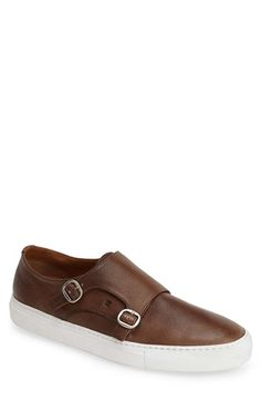 Fratelli Rossetti Double Monk Strap Sneaker (Men) available at #Nordstrom