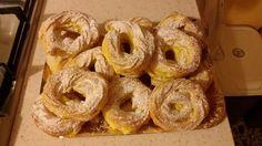 Nun te magnà tutte!: Zeppole di San Giuseppe al forno Bagel, Doughnut, Caterina, Bread, Desserts, Oven, Tailgate Desserts, Brot, Dessert