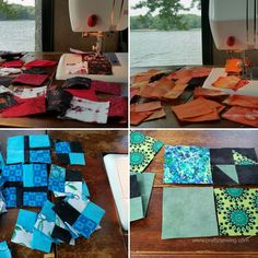 Crafty Sewing & Quilting: Sewing with Scraps from the Focus Through the Prism Challenge Quilts