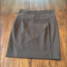 Express pencil skirt Express skirt, size 0. Only worn once! Express Skirts Pencil
