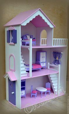 Кукольный дом ручной работы. Ярмарка Мастеров - ручная работа. Купить Кукольный домик. Handmade. Кукольный…