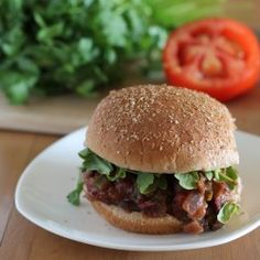 Vegan Sloppy Joes.  A similar recipe is made in Congo Chefs camp | Congressional Camp