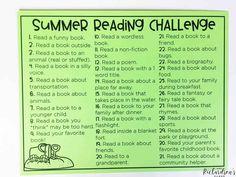 FREE Summer Reading Challenge