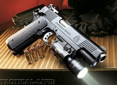 Yeah, I support and exercise the Second Amendment. Springfield Armory 1911 TRP ACP want! Tactical Life, Tactical Gear, Weapons Guns, Guns And Ammo, Arsenal, Springfield Armory 1911, 1911 Pistol, Winchester, 45 Acp
