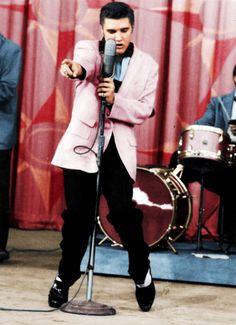 Elvis Presley on 'The Milton Berle Show', 1956